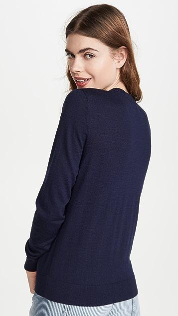 Tory Sport Birdie Sweater