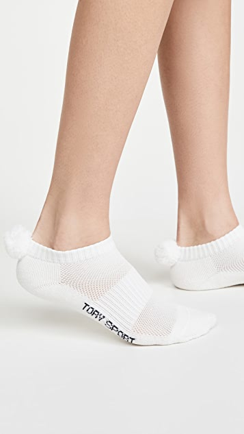 Tory Sport Performance Compression Pom Pom Socks