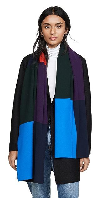 Tory Sport 罗纹围巾