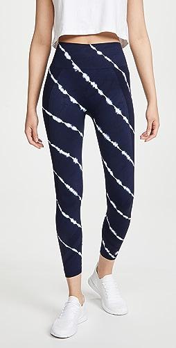 Tory Sport - Tie-Dye Seamless 7/8 Leggings