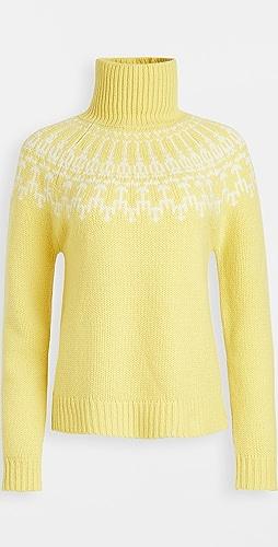 Tory Sport - Merino Fair Isle Sweater