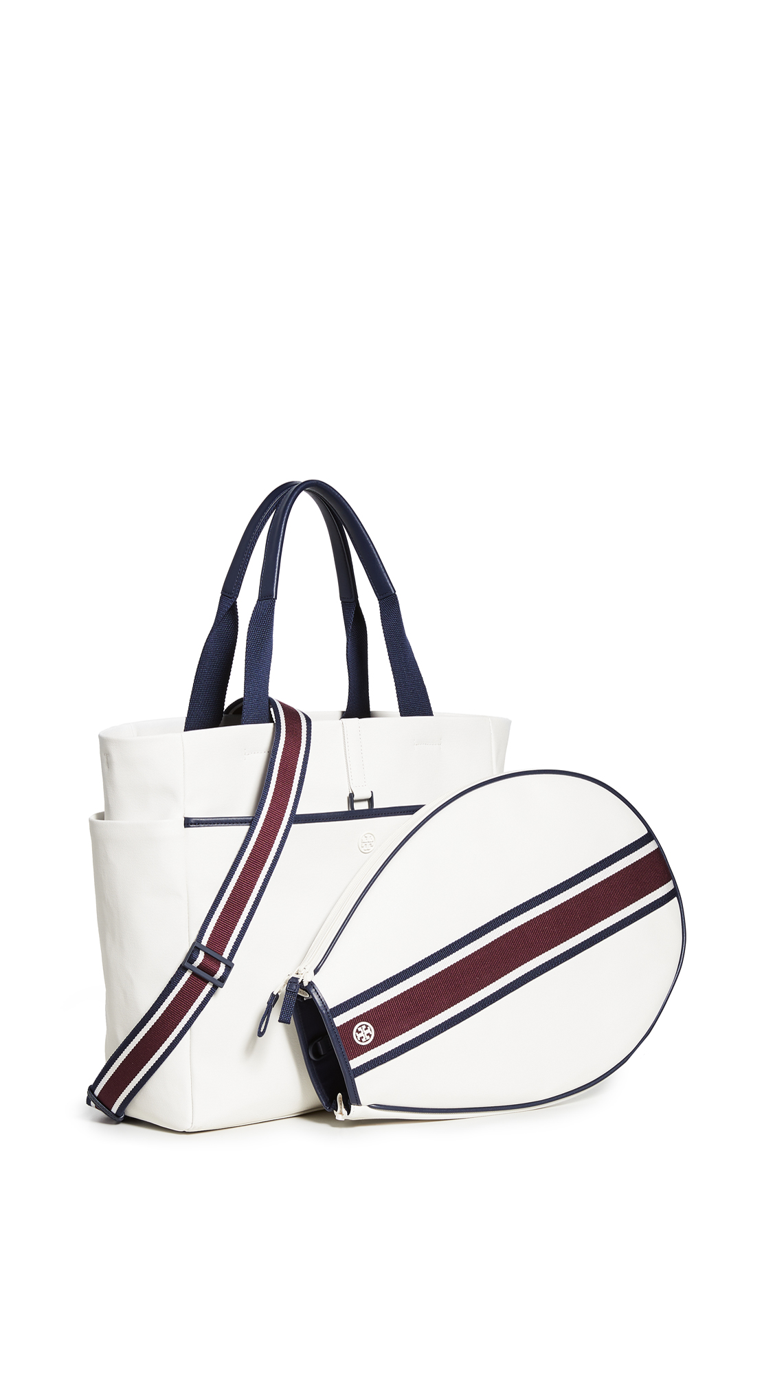 Tory Sport Convertible Stripe Tennis Tote