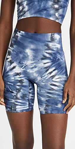 Tory Sport - High Rise Seamless Tie Dye Bike Shorts