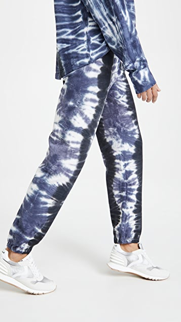 Tory Sport French Terry Tie Dye Sweatpants
