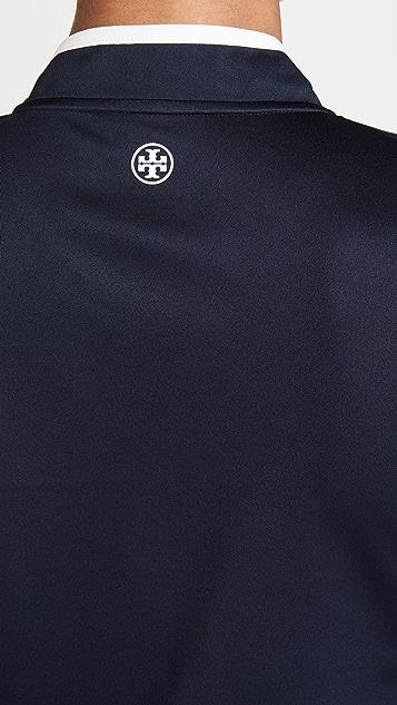 Tory Sport 高性能半长拉链开襟套头衫