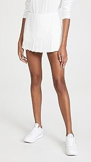 Tory Sport 裥褶下摆网球半身裙
