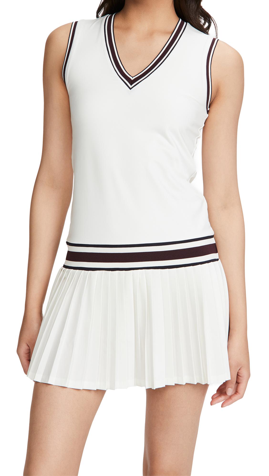 Tory Sport Performance V Neck Tennis Dress