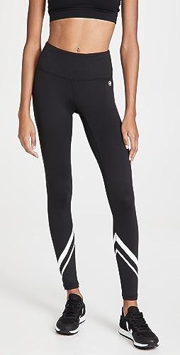 Tory Sport - 高腰轻盈 V 字型贴腿裤