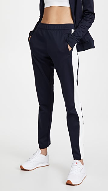 Tory Sport 撞色运动裤