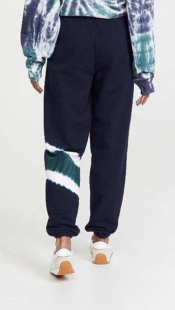 Tory Sport French Terry Tie Dye Sweatpants