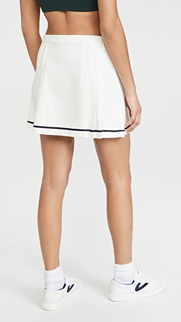 Tory Sport Tech Twill Pleat Tennis Skirt