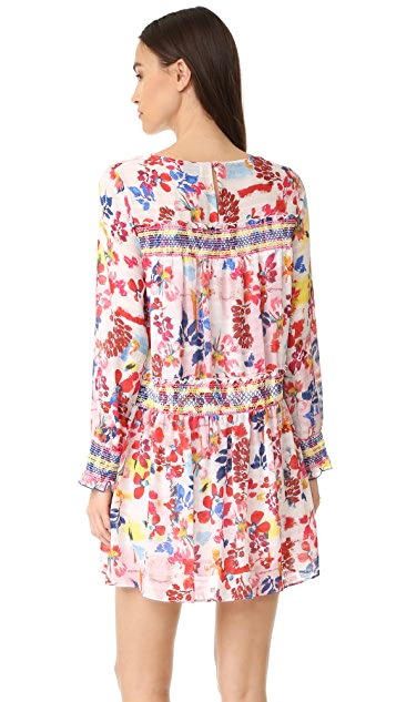 Tanya Taylor Floral Burst Hailey Dress