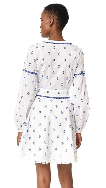 Tanya Taylor Diamond Fils Coupe Caro Dress