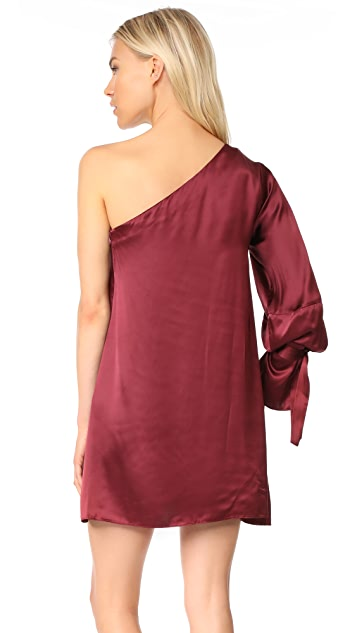 Tanya Taylor Satin Viscose Leah Dress