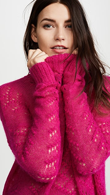 Tanya Taylor Alpaca Everette Sweater