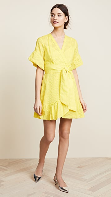 Tanya Taylor Brandy Dress - Lemon