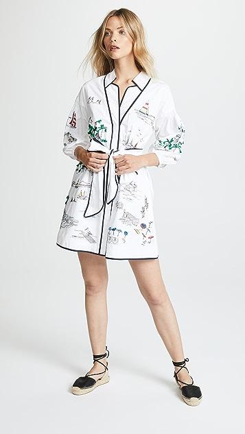 Briana Dress by Tanya Taylor