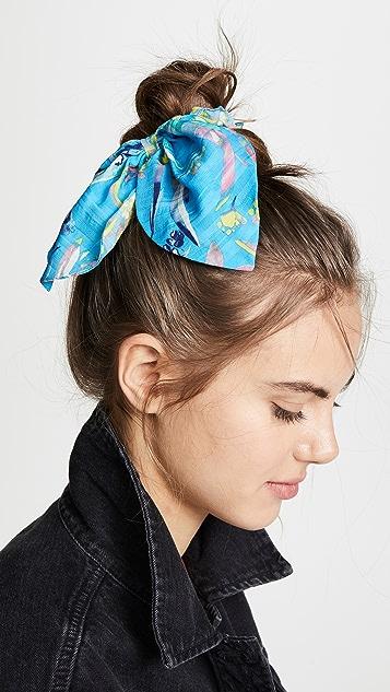 Tanya Taylor Резинка для волос с цветочным принтом