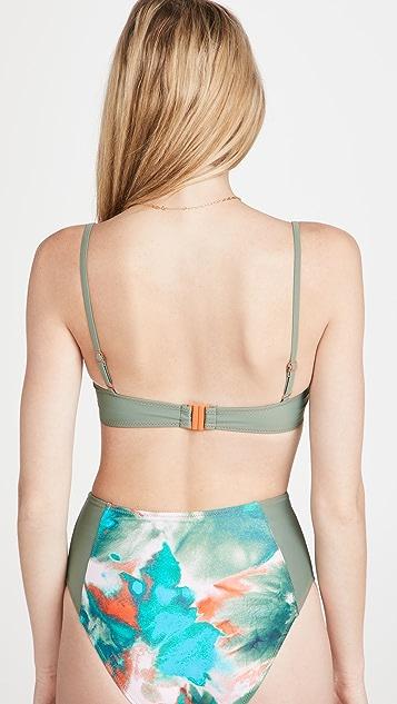Tanya Taylor Maxine Bikini Top