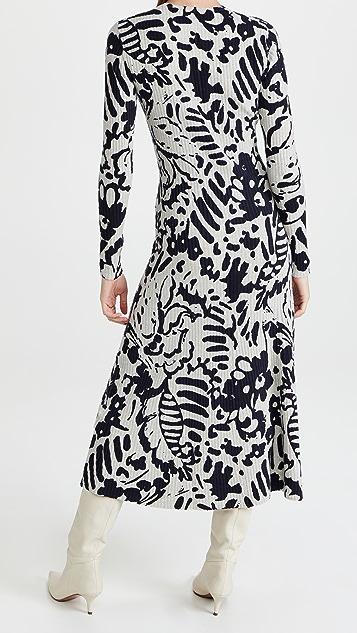 Tanya Taylor Odette Stretch Knit Dress