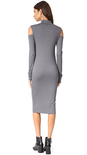 Twenty Tees Stanley Cutout High Neck Dress