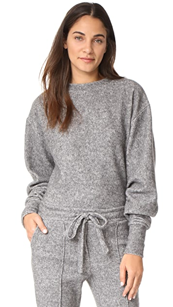 Twenty Tees Maddux Fleece Cropped Sweatshirt ...