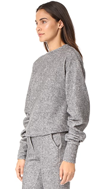 Twenty Tees Maddux Fleece Cropped Sweatshirt