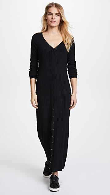 Twenty Tees Harmony Rib Maxi Sweater Dress