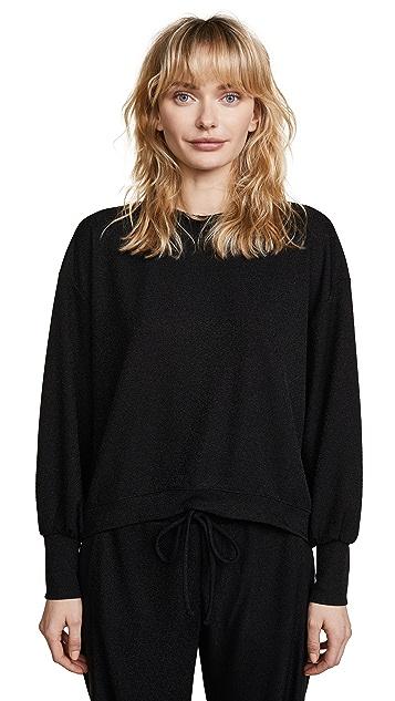 Twenty Tees Kent Crepe Cropped Sweatshirt