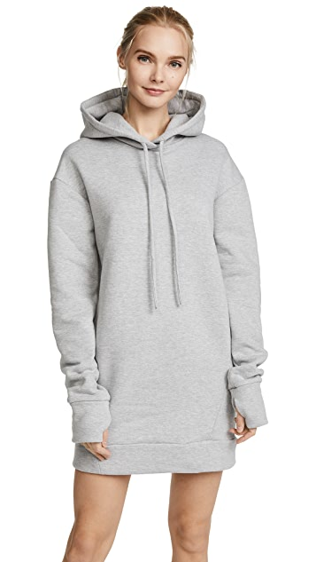 Twenty Tees Hooded Sweatshirt Dress