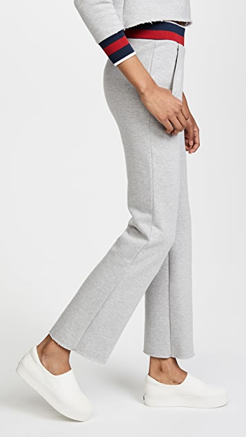 Twenty Tees Varsity Ringer Wide Leg Sweats