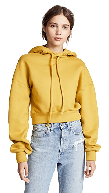 Twenty Tees Pride Terry Long Sleeve Cropped Hoodie