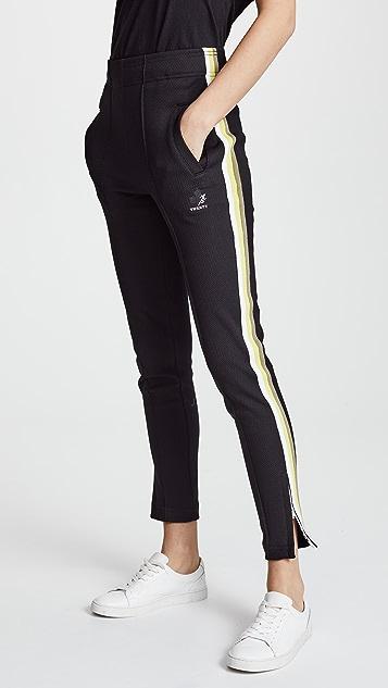 Twenty Tees Olympic Mesh Track Pants - Jet Black