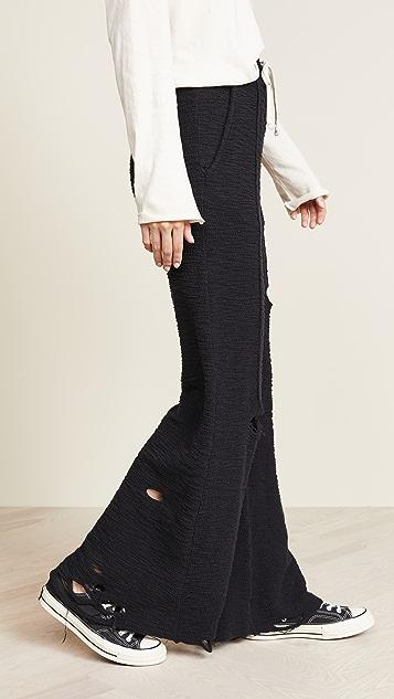 TWENTY MONTREAL Широкие брюки Raines с разрезами