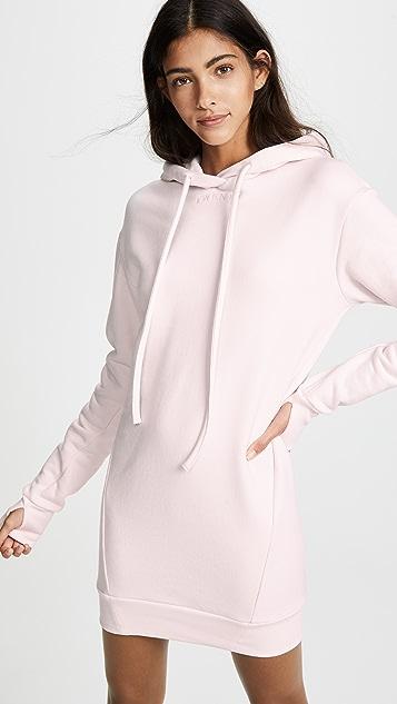 bf4500b407 TWENTY MONTREAL Hooded Sweatshirt Dress