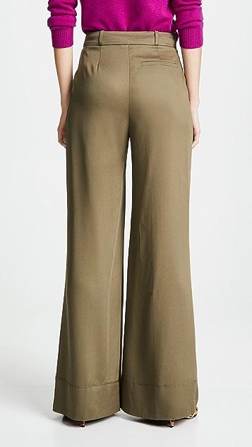 Twenty Tees Sosa Twill Wide Leg Trousers