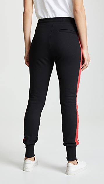 TWENTY MONTREAL Pride Terry Varsity Stripe Slim Sweats