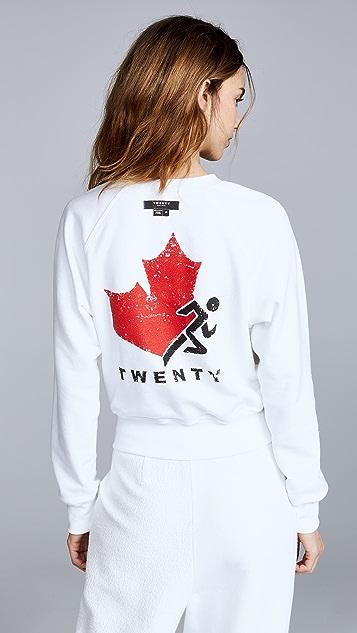 Twenty Tees Вывернутая толстовка с логотипом Sunnyside