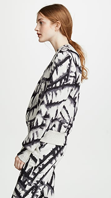 TWENTY MONTREAL Tie Dye Pullover