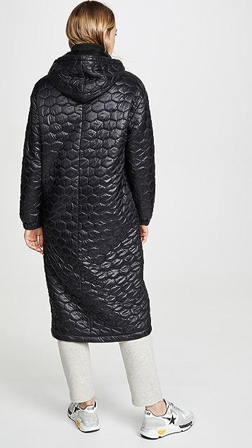 TWENTY MONTREAL Hexagon Puff Shield Coat