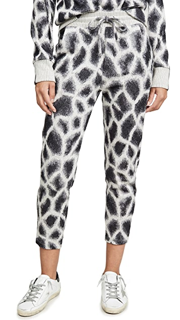 TWENTY MONTREAL 长颈鹿中长慢跑裤