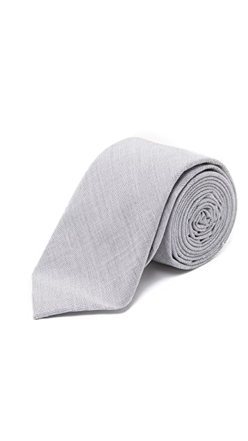 The Tie Bar Solid Cotton Tie