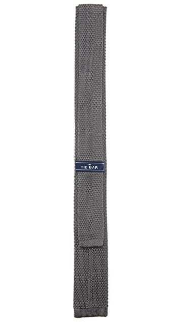 The Tie Bar Knit Silk  Tie