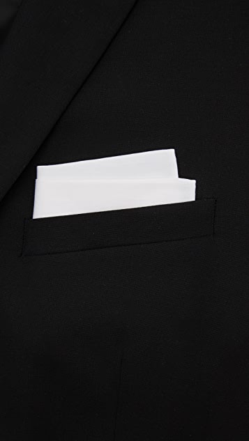 The Tie Bar Solid Pocket Square