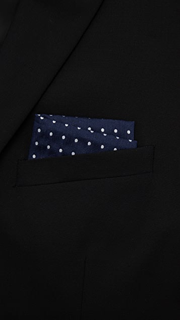 The Tie Bar Dotted Dots Pocket Square