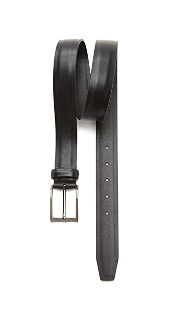 The Tie Bar Solid Leather Dress Belt
