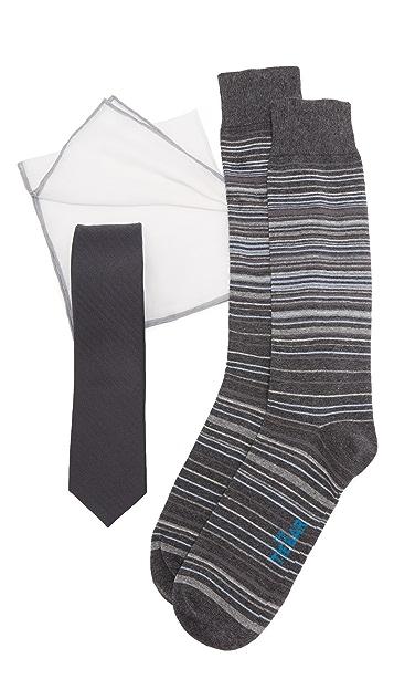 The Tie Bar Gray Astute Tie Set
