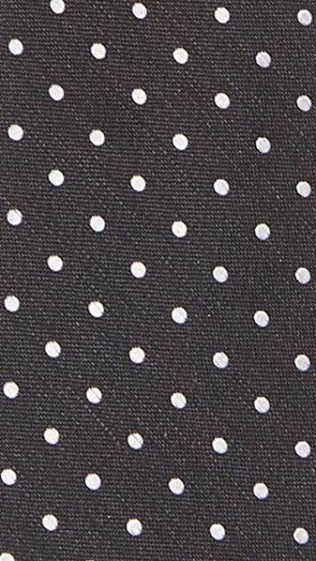 The Tie Bar Black Dotted Dot Tie Set