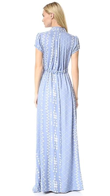 TULAROSA Joel Plunge Dress
