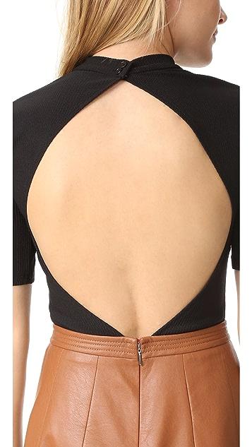 TULAROSA Millie Thong Bodysuit